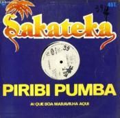 Disque Vinyle Maxi 45t Piribi Pumpa / Ai Que Boa Maravilha Aqui. - Couverture - Format classique