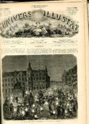 L'UNIVERS ILLUSTRE - HUITIEME ANNEE N° 484 Fête de la Saint-martin à Dusseldorf - Couverture - Format classique