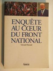 Enquete au coeur du front national - Intérieur - Format classique