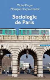 Sociologie de Paris - Couverture - Format classique