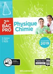Physique-chimie ; 2de bac pro ; pochette de l'élève (édition 2019) - Couverture - Format classique