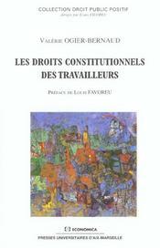 Les droits constitutionnels des travailleurs - Intérieur - Format classique