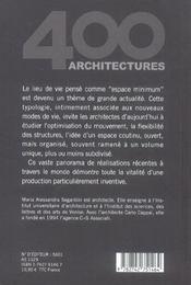 Petits espaces - 4ème de couverture - Format classique
