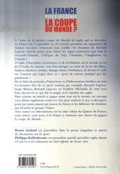 La france peut-elle gagner la coupe du monde ? - 4ème de couverture - Format classique