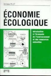 Economie Ecologique - Couverture - Format classique