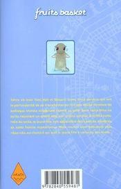 Fruits basket T.2 - 4ème de couverture - Format classique