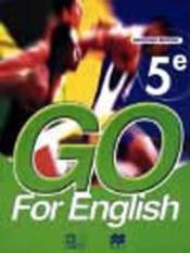 Go for english 5e (senegal) - Couverture - Format classique