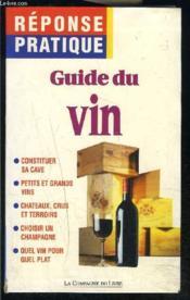Guide Du Vin - Couverture - Format classique