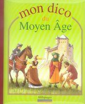 Mon dico du Moyen Age - Intérieur - Format classique