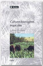 Cultures fourragères tropicales - Couverture - Format classique