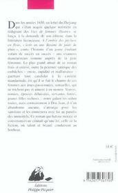 A L'Ombre Des Pechers En Fleur - 4ème de couverture - Format classique