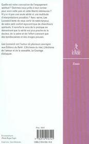 Eloge De La Folle Sagesse - 4ème de couverture - Format classique
