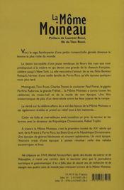 La môme moineau ; la vie fabuleuse et tragique de la femme la plus riche du monde - 4ème de couverture - Format classique