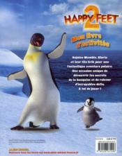 Happy feet 2 ; mon livre d'activités - 4ème de couverture - Format classique