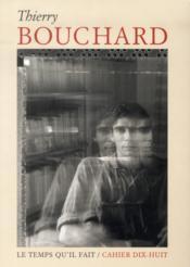 Thierry Bouchard - Couverture - Format classique
