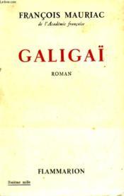Galigaï. - Couverture - Format classique