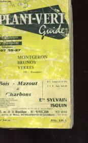 Le Plani-Vert Guide - Indicateurs De Banlieue - Montgeron - Brunoy - Yerres - Couverture - Format classique