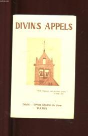 Divins Appels. - Couverture - Format classique
