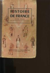 Histoire De France. Cours Moyen Par Une Reunion De Professeurs. - Couverture - Format classique