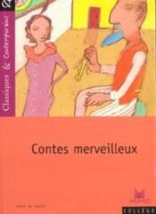 Contes merveilleux - Couverture - Format classique