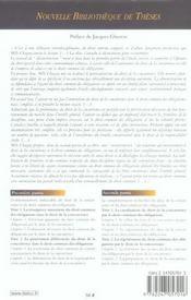 Droit de la concurrence et droit commun des obligations (1re édition) - 4ème de couverture - Format classique