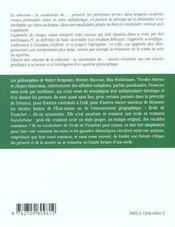 L'Ecole De Francfort - 4ème de couverture - Format classique