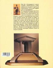 Les Compagnons - 4ème de couverture - Format classique