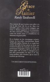 Grace Et Rainier, Le Rocher Des Illusions - 4ème de couverture - Format classique