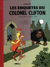 Clifton T.1 ; les enquêtes du colonel Clifton - Intérieur - Format classique