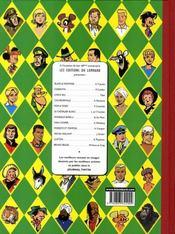 Clifton T.1 ; les enquêtes du colonel Clifton - 4ème de couverture - Format classique