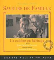 Saveurs de famille ; la cuisine en héritage - Intérieur - Format classique