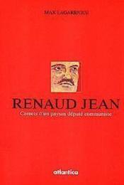 Les carnets de renaud jean - Couverture - Format classique