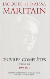 Oeuvres Completes Maritain Xvi - Couverture - Format classique