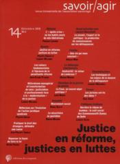 Revue Savoir/Agir N.14 - Couverture - Format classique