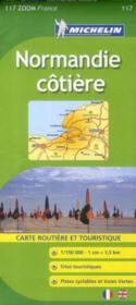 CR zoom 117 ; Normandie côtière - Couverture - Format classique