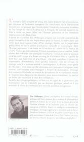 L'Europe puissance ou le rêve français ; chroniques de la guerre des mondes - 4ème de couverture - Format classique