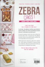 Zebra cakes ! - 4ème de couverture - Format classique