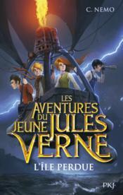 Les aventures du jeune Jules Verne T.1 ; l'île perdue - Couverture - Format classique
