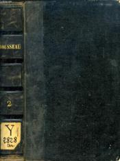 Oeuvres Completes De J. J. Rousseau, Tome Ii, La Nouvelle Heloise - Couverture - Format classique