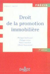 Droit De La Promotion Immobiliere - Intérieur - Format classique