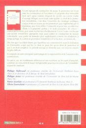 Droit De La Promotion Immobiliere - 4ème de couverture - Format classique