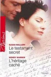 Le Testament Secret ; L'Heritage Cache - Intérieur - Format classique