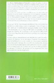 Introduction a la théorie des groupes de lie réels ; niveau m1-m2 - 4ème de couverture - Format classique