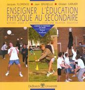 Enseigner l'education physique au secondaire - Intérieur - Format classique