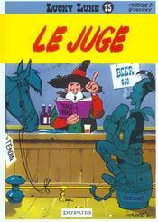 Lucky Luke T.13 ; le juge - Intérieur - Format classique
