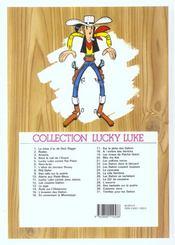 Lucky Luke T.13 ; le juge - 4ème de couverture - Format classique