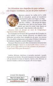 Marie-madeleine ; le livre de l'élue - 4ème de couverture - Format classique