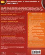 Le livre de l'internet ; pour Windows 7 (2e édition) - 4ème de couverture - Format classique
