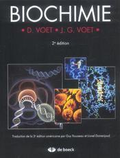 Biochimie (2e édition) - Intérieur - Format classique