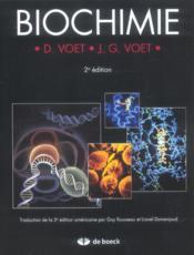 Biochimie (2e édition) - Couverture - Format classique